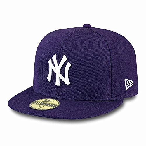 New Cappello Con Porpora Era Visiera Ny 59 Fifty Yankees XrFXqx