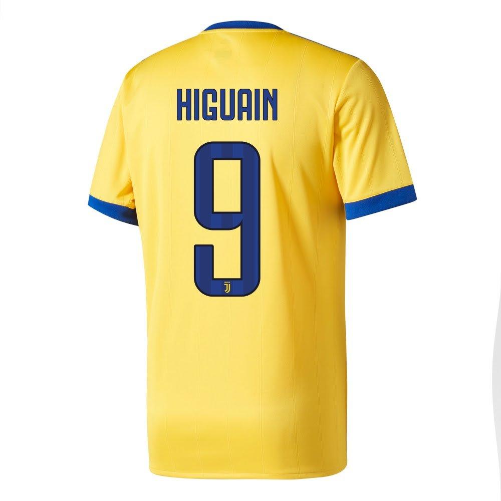 Juventus Away Higuaín Jersey 2017 /2018 (公式印刷) – XS B07C46TW9X