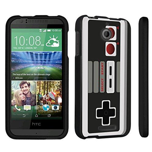 DuroCase ® HTC Desire 510 Hard Case Black - (Game Controller)