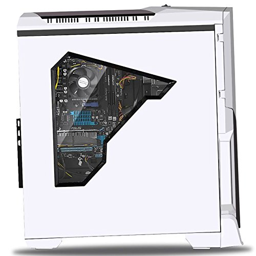 SkyTech ArchAngel GTX 1050 Ti Gaming Computer Desktop PC FX-6300 3.50 GHz 6-Core, GTX 1050 Ti 4GB, 8GB DDR3, 1TB HDD, 24X DVD, Wi-Fi USB, Windows 10 Pro 64-bit, White (GTX 1050 Ti Version)