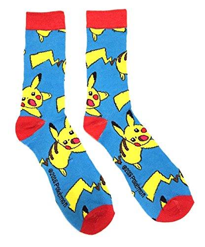 Pokemon Pikachu Action Pose Socks