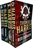 Hannibal Lecter Series Collection 4 Books Set by Thomas Harris Titles in the Set Red Dragon, Silence Of The Lambs, Hannibal, Hannibal Rising