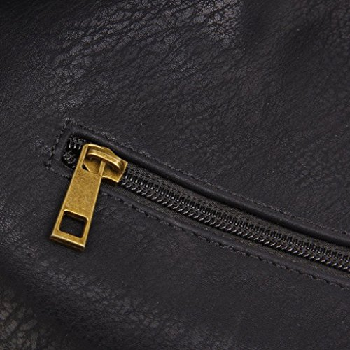 Hobo Tote Shoulder Body The Aida Cross Bag Black Purse q7nR66Hw1