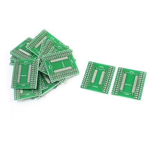 eDealMax a14062100ux0219 20 Pieza SOP56 SSOP56 TSSOP56 0,635 mm 0,8 mm a DIP56 2,54 mm PCB adaptador convertidor by eDealMax