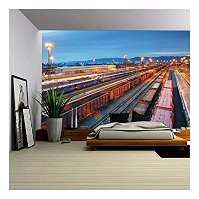 Professional Creation, Marvelous Artistry, Stock Photo Cargo Train Trasportation Freight Railway