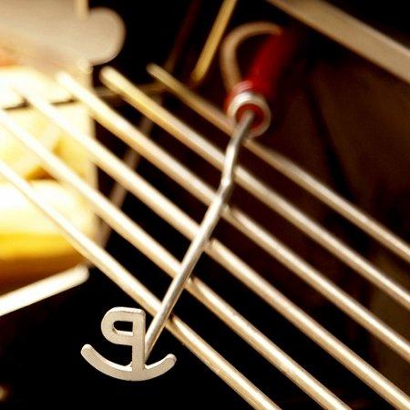 Single Letter Western Steak Branding Iron - Letter P