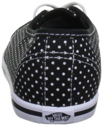 Femme Vans Black White Baskets Basses Leah Chaussures Pour true gqvIpq