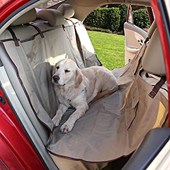 Amazon.com: ISOLY Pet Seat Cover for Cars Oxford Fabric Waterproof ...