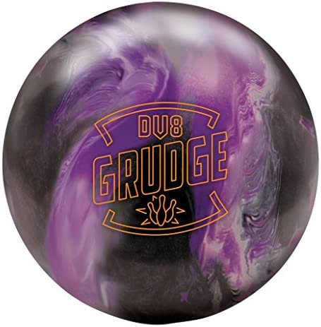 DV8 Grudge Pearl Bowling Ball- Black White Violet