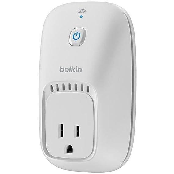 Amazon com: Belkin WeMo Switch Smart Plug Wi-Fi Enabled