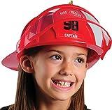 Deluxe Child Firefighter Hard Hat Toy Helmet