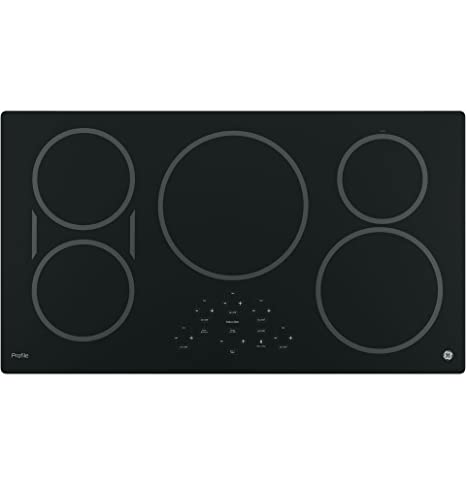 GE PHP9036DJBB Profile 36u0026quot; Black Electric Induction Cooktop