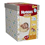 Huggies Little Snugglers Diapers & Wipes Bundle - Newborn