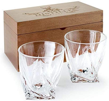 Judge Double Walled Tumblers Highball Whisky Shot Glasses set of 2