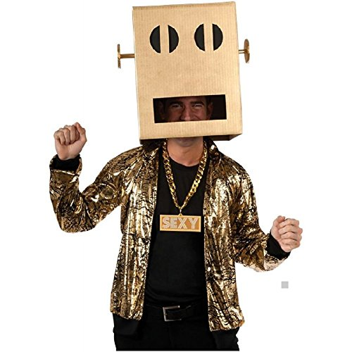 Shuffle Bot Non-LED Headpiece Costume Accessory Adult LMFAO Halloween]()