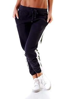 OSAB-Fashion 10739 Damen Jogging Hose Joggpants Sporthose Fitness  Trainingshose Übergrößen dc1688cccd