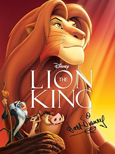 - The Lion King: The Walt Disney Signature Collection (Theatrical Version)