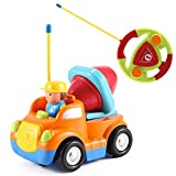 Best Liberty Imports Toddler Trucks - Cartoon R/C Construction Cement Mixer Truck Radio Control Review