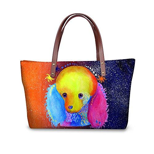 FancyPrint Foldable Casual Handbags Wallets Women Purse Fruit Print Dfgcc1920al Bags r0Erqaw