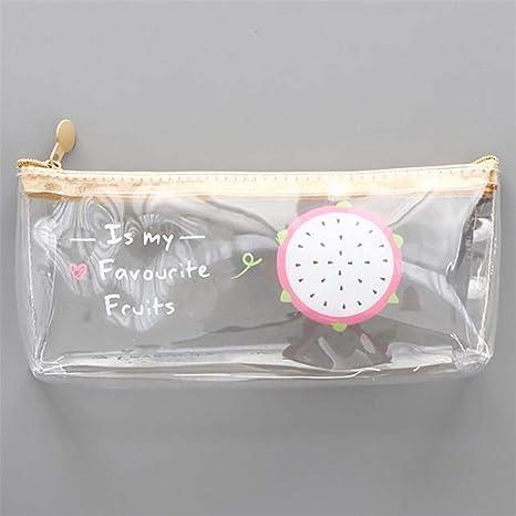 Kissherely - Bonito diseño de frutas, estuche transparente ...