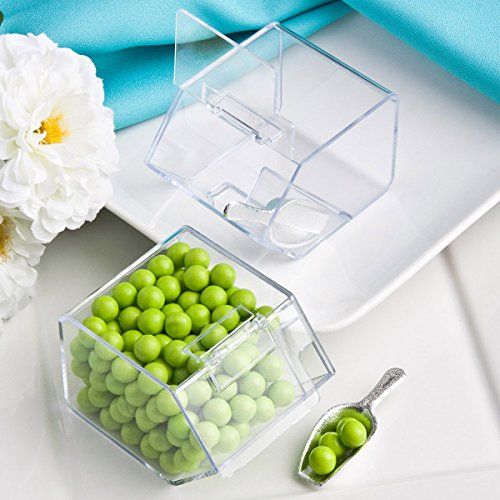 Perfectly Plain Collection candy scoop favors.., 1 ()