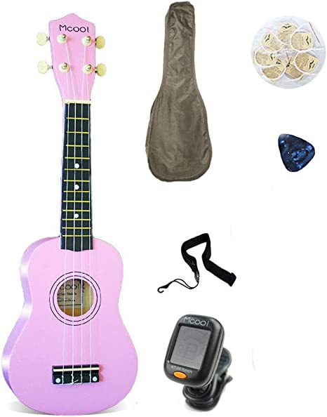 Ukelele Principiante Guitarra de 4 Cuerdas 21 Pulgadas Madera ...