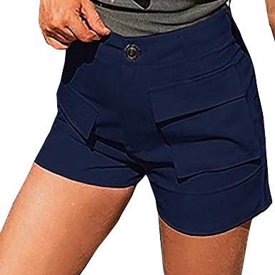 estilo novedoso venta online super especiales Vectry Vaquero Corto Mujer Verano Pantalones Anchos Mujer ...