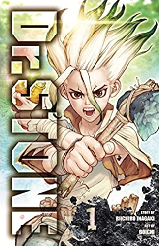Amazon Com Dr Stone Vol 1 1 9781974702619 Riichiro Inagaki