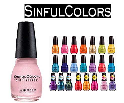 Sinfulcolors Nail Enamel - Sinful Colors Finger Nail Polish Color Lacquer Set 16-Piece Collection