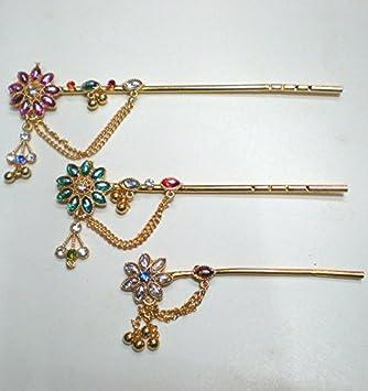 Indian Handicrafts Export Krishna S Flute Flower Design Amazon Co