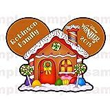 Christmas Gingerbread House Disney Cruise Magnet | Gingerbread House Family Magnet