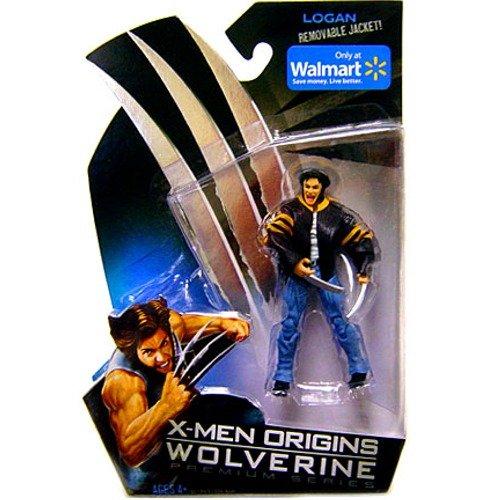 X-Men Origins Wolverine Premium Series Exclusive Action Figure Logan with Removable Jacket Hasbro