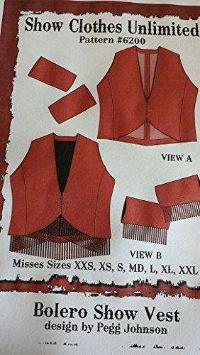 (6200 - Misses Bolero Vest Pattern)