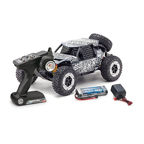 Kyosho AXXE Electric Desert/Off-Road RC Buggy (1:10 Scale), Grey ()