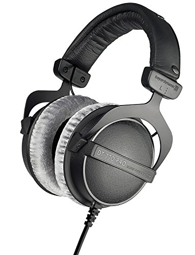 51kT2dc%2BsML - beyerdynamic DT 770 Pro 80 Limited Edition Headphones, Black