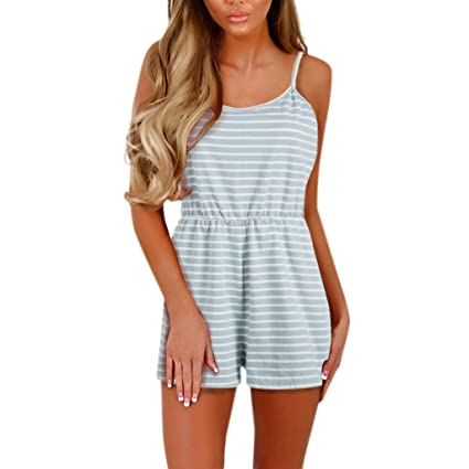 98520a1c55696 Amazon.com: YKARITIANNA Womens Jumpsuit for Women, Casual Holiday Strap  Mini Playsuit Ladies Summer Shorts Jumpsuit: Arts, Crafts & Sewing