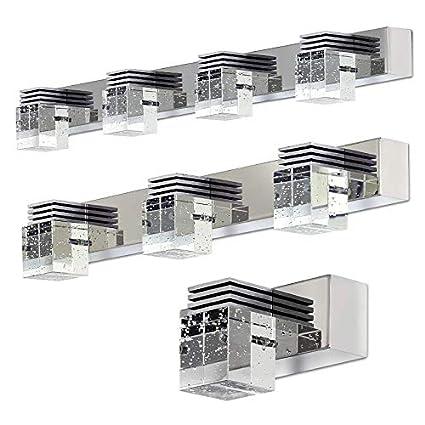 Premiumleuchte MIR.1B 1P 3W Spiegelleuchte Kristall Bilderleuchte Wandleuchte Wandlampe 3200K Warmwei/ß 230V