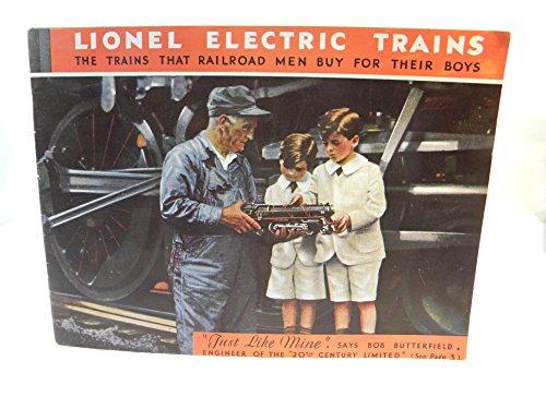 (1931 Lionel Color Consumer Catalog 1975 Iron Horse Color)