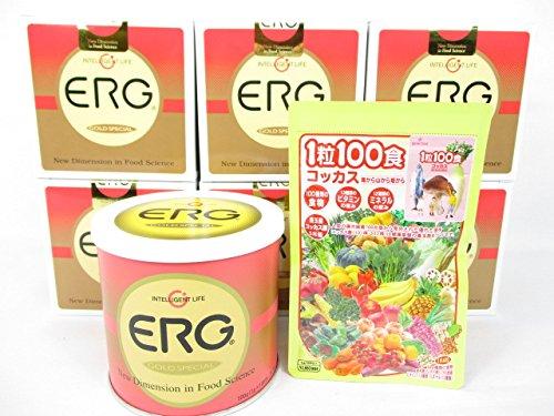 エルグゴールドスペシャル6缶+「1粒100食コッカス」1袋付セット B0155SZEO8