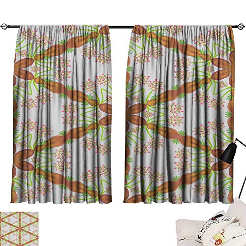 SINXY&CASE Bedroom Curtains Abstract Seamless Colorful Wallpaper Texture background117 63