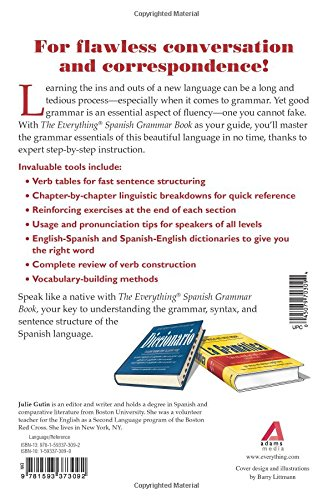 The Everything Spanish Grammar Book: All The Rules You Need To ...
