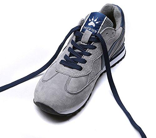 Tda Zapatillas De Deporte Con Cordones Ocasionales Para Hombre Zapatillas Deportivas Senderismo Gris