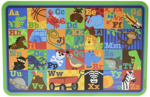 (Stephen Joseph Placemat Abc's Boy Alphabet)