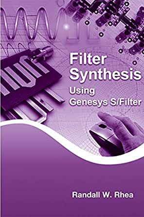 Filter Synthesis Using Genesys S Filter Artech House border=