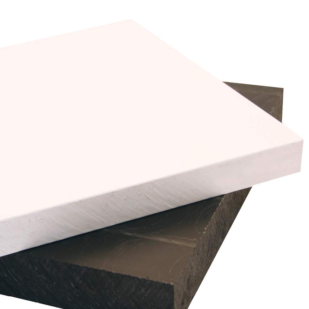 "3//16/"" Thick x 12/"" Wide x 24/"" Length Gray PVC Sheets"