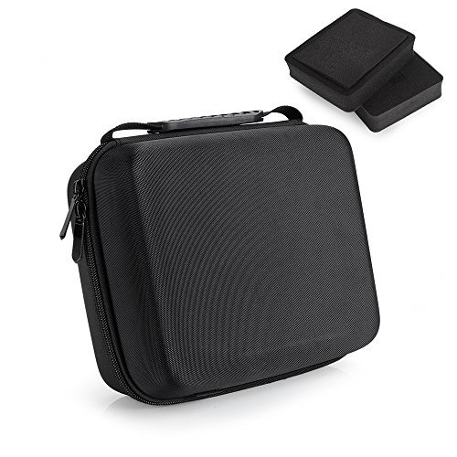 Pergear Portable Carrying Case for Feelworld FW279 FW759 T7 FW279S FW703 FW760 F7 FW759P FW74K A737 FH7 Lilliput A7S Bestview S7 Aputure VS-1 VS-2 FineHD and Other 7 Inch DSLR Video Monitors