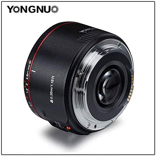 YongNuo YN50mm F1.8 II AF MF Small Lens with Super Bokeh Effect for Canon Camera