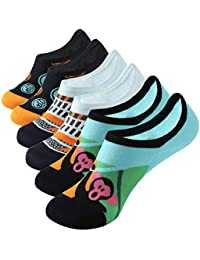 Men's Socks Original 5 Pairs Men Socks Stars Striped Black White Double Color Cotton Socks Fashion Match Many Style Neatly Breathable Male Sock Meias