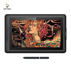 XP-Pen Artist15.6 Ips Drawing Monitor Pen Display Graphic Tablet Digital Monitor with Battery-Free Passive Stylus and 8192 Levels Pressure