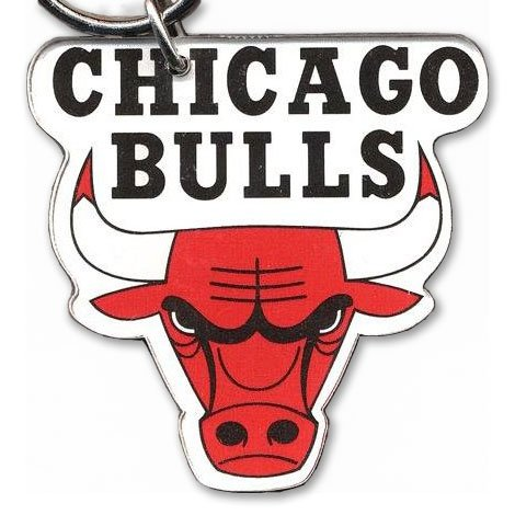 Nba Chicago Bulls Keychain (NBA 21234041 Chicago Bulls Premium Acrylic Key Ring)